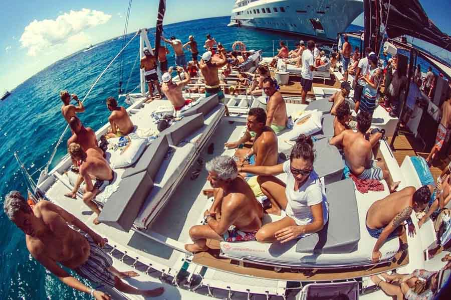 Bateau Voyage d'incentive Ibiza