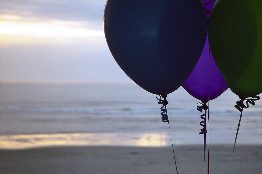 Fête d'anniversaire sur la plage, Ibiza