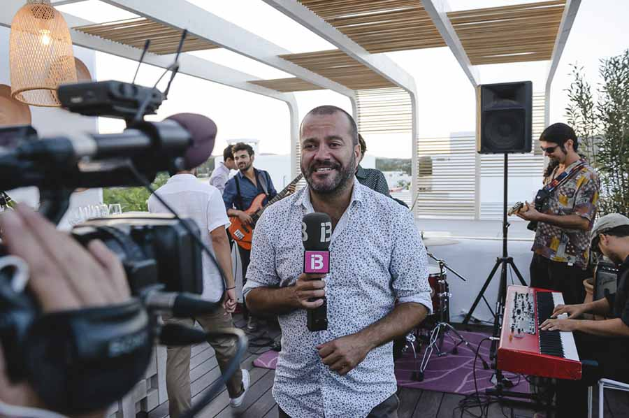 IB3 TV opening inauguration Ibiza