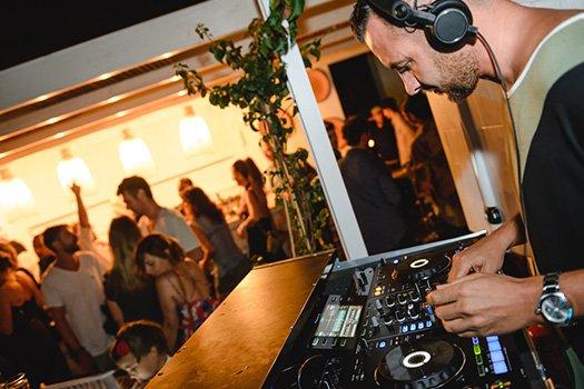 Service musique événements Ibiza