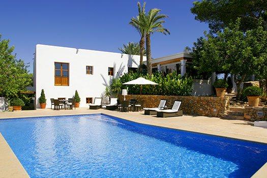 Hébergement ruraux piscine Ibiza