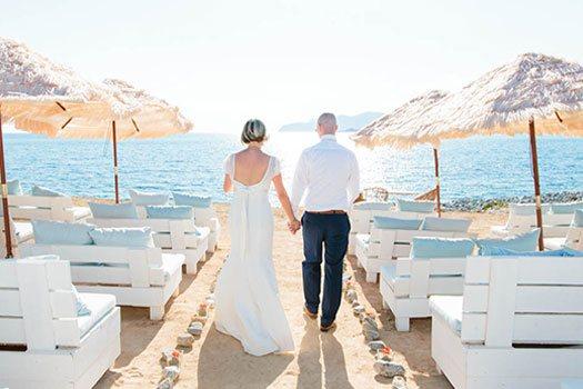 Cérémonie vue mer Ibiza