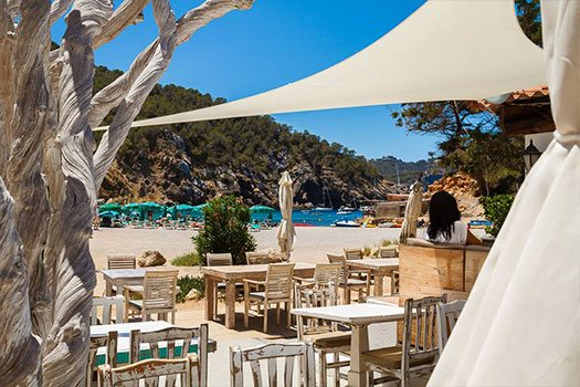 Locations plage Ibiza event planner