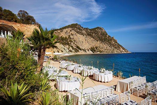 Sélection du site vue mer Ibiza