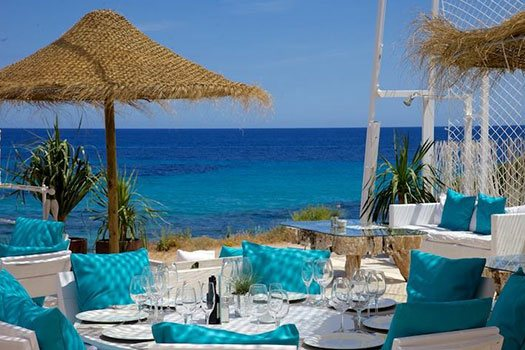 Sélection du site plage Ibiza