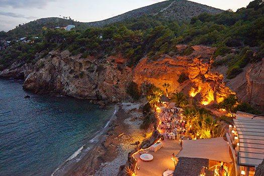 Sélection du site vue spectaculaires Ibiza